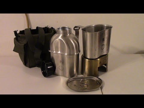 Unboxing: Pathfinder stainless steel canteen kit