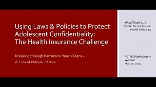 Breaking through Barriers to Reach Teens -- A look at policy and practice