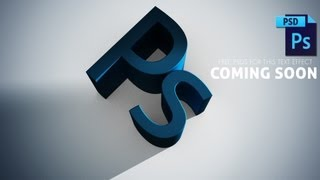 Basic 3D Text | Photoshop CC Tutorial