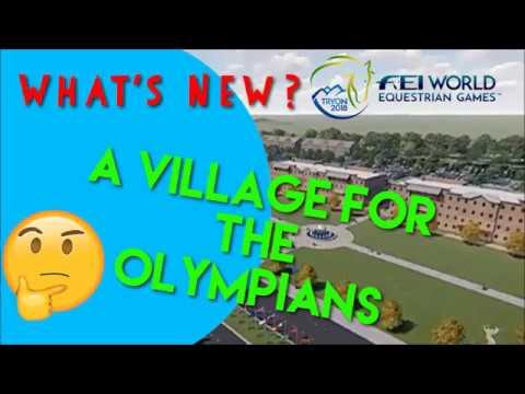 2018 FEI World Equestrian Games  TIEC Update  November 2017