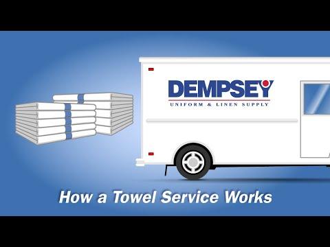 How Towel Service Rental Works