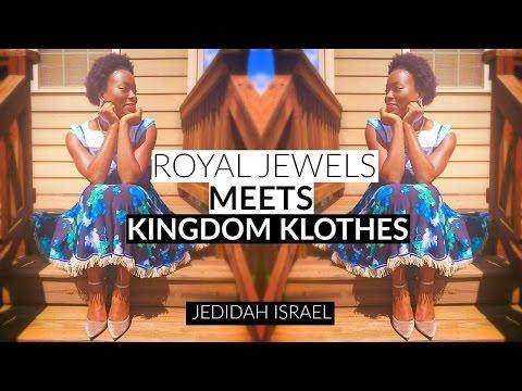 ROYAL JEWELS MEETS KINGDOM KLOTHES l MYROYALJEWELS