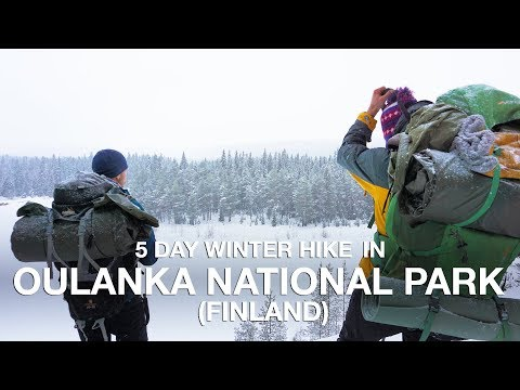 5 days Winter Hiking in Oulanka National Park (Finland)