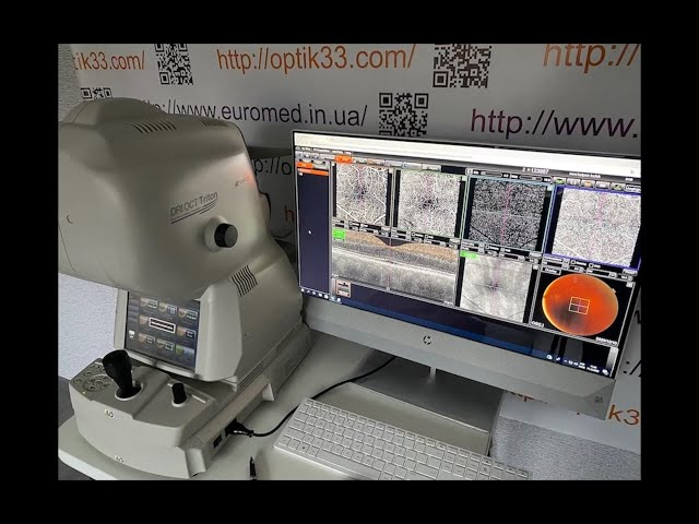 Topcon DRI Triton оптико-когерентный томограф с ангиографией!