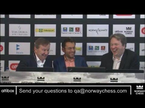 BEAUTIFUL GAME!!! ANALYSIS WITH LEVON ARONIAN ON BEATING MAGNUS CARLSEN - NORWAY CHESS 2017 ROUND 4