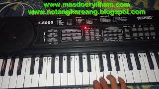 Not Angka Piano Pianika Lagu Duda
