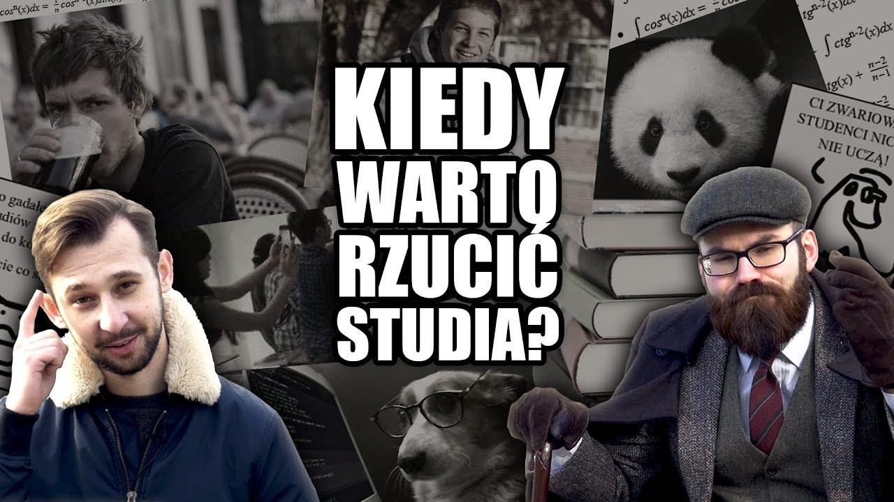 Kiedy warto rzucić studia? Brutalna prawda o studiowaniu w Polsce!