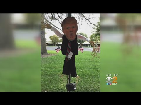 President Trump Scaring Up Controversy At Santa Clarita Elementary School.