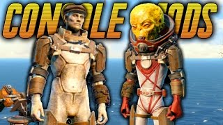 2 AWESOME ARMOR CLOTHING MODS Fallout 4 Console Mods