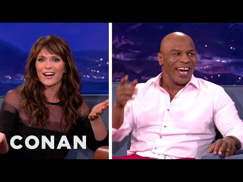 Katie Aselton Teaches Mike Tyson About Sexy Euphemisms From