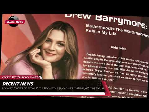 A Very Fake Drew Barrymore Interview From EgyptAir's In-Flight Magazine Went Viral I DECENT NEWS I