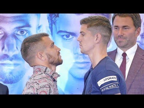 Vasyl Lomachenko Vs. Luke Campbell FACE OFF | Matchroom Boxing