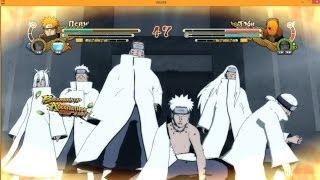 Ultimate Ninja Storm 3 Full Burst PC Holy Pain VS Obito