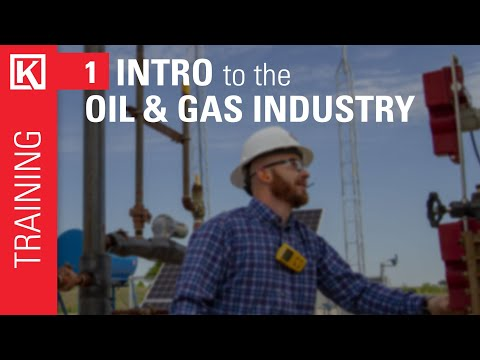 Oil and Gas Industry Overview [Training Basics Series]