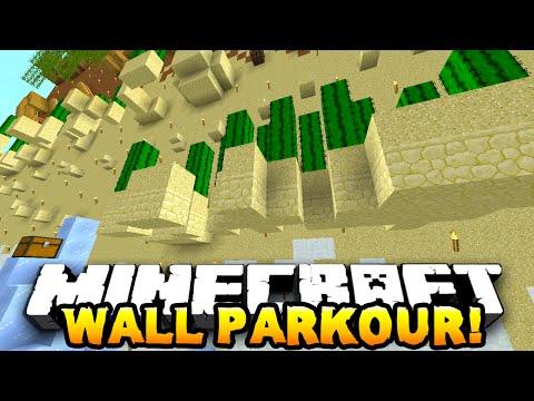 Minecraft INSANE WALL PARKOUR! (Epic Parkour Map) #2 END! w/PrestonPlayz & MrWoofless