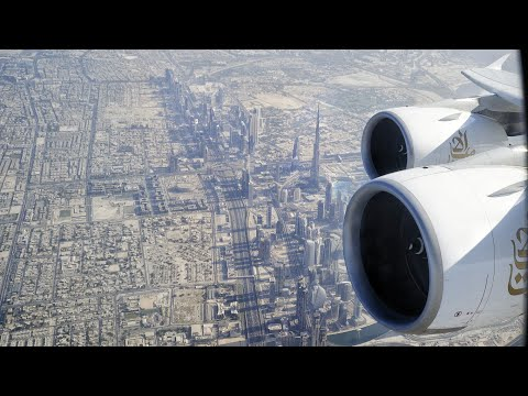 BEST A380 Dubai Take Off? EMIRATES Airbus A380 Departs DXB D