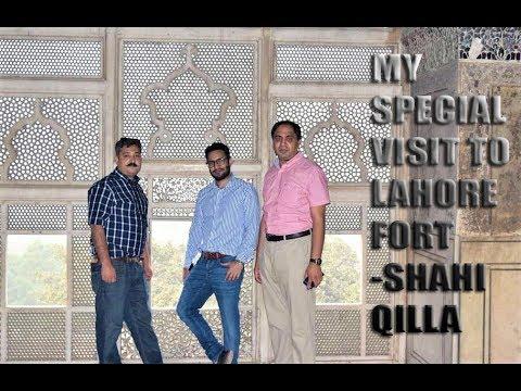 My special visit to Lahore Fort -Shahi QIlla with Dr. Sagheer Aslam & Dr. Irshad Ali  vlog # 16