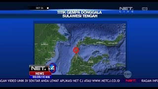 Inilah Titik Gempa Donggala Sulawesi Tengah-NET24