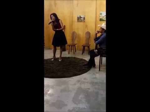 MARA LINHARES NA TV FONTE - CANAL 5 - TRECHO DA NOVA MÚSICA: NO ODRE