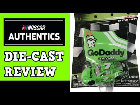 NASCAR Authentics Die-Cast Review – Danica Patrick 2018 GoDaddy Last Ride 1:64
