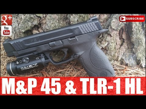 M&P 45 & TLR-1 HL: HD Pistol VR to Capo Jay