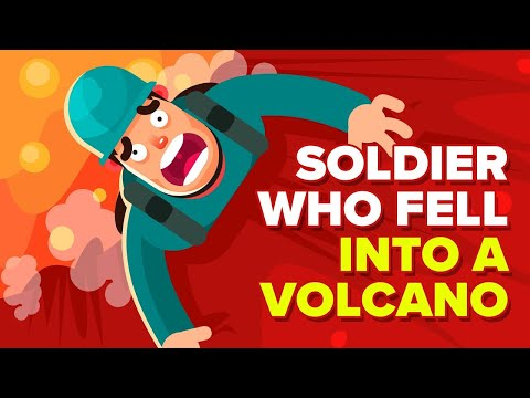 How a Soldier Survived a Fall Into An Active Volcano (True Survival Story)