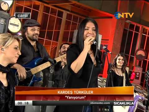 KARDEŞ TÜRKÜLER NTV  CANLI PERFORMANS