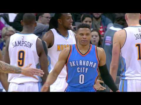 Russell Westbrook Posts NBA Leading 17th Triple-Double