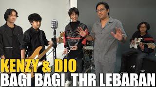 Download GREBEK KENZY DAN DIO DI STUDIO.. ANDRE BAGI-BAGI THR BARU BUAT PENONTON