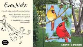 Evernote™ Garden Flag - 14EN2991 Cardinals Thumbnail