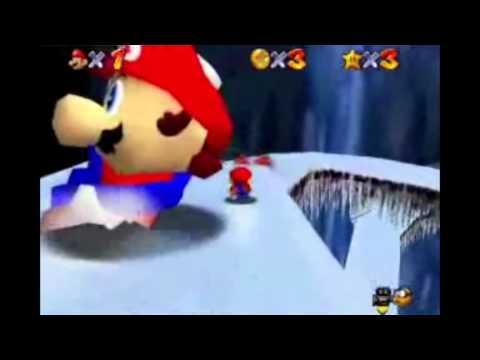 Mario 64 A corrida do pinguão.