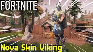 NOVA SKIN VIKING,SOLO VS SQUAD!!! - Fortnite Battle Royale