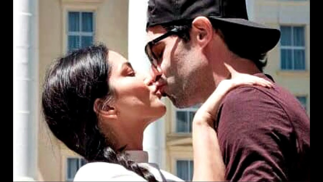 Image result for Sunny Leone kiss daniel