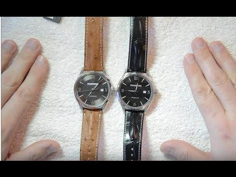 e0a4527cc5c Hamilton Jazzmaster Viewmatic H32755851 and H32755731 review - YouTube