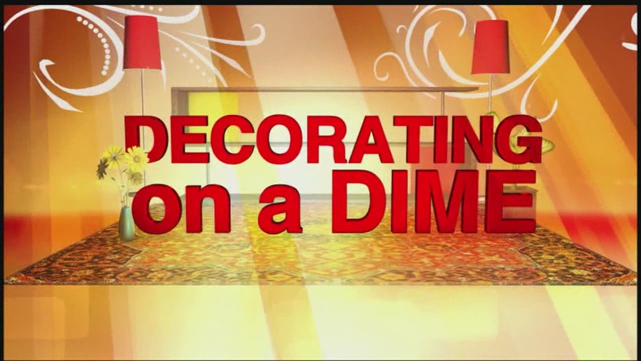 Decorating on a Dime: Making Floor Clothes 07/31/2015 - YouTube