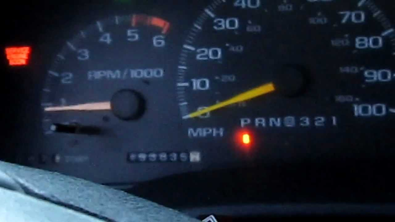 4 Wire Motor Diagram Chevy Vortec 5 7 Problem Tahoe 1996 Rpm S Youtube