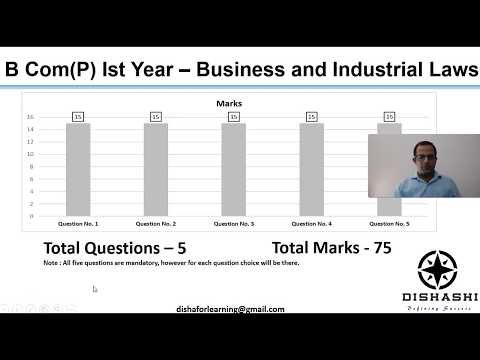 Business and Industrial Laws Paper 2018 - Delhi University(SOL) B Com(P) 1st Year
