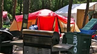 Cedar Bridge Tent City, Lakewood, Nj Display