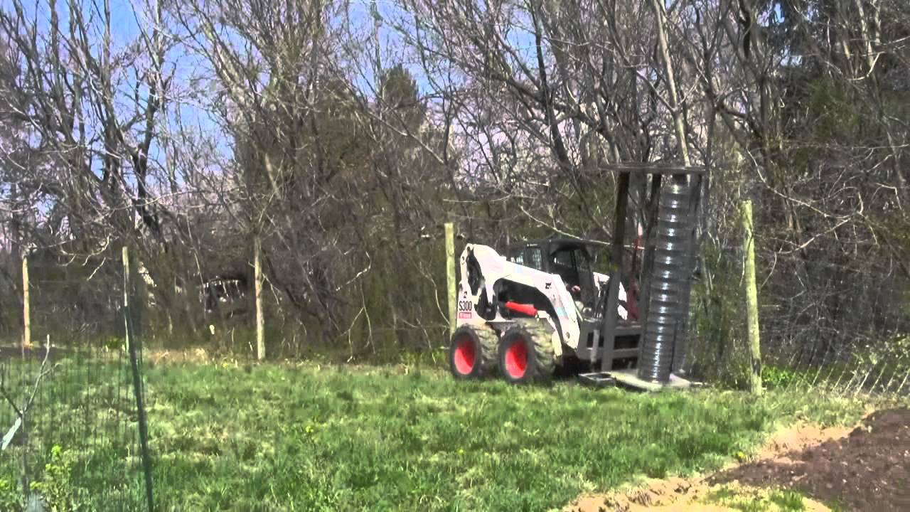 Installing the Deer Fence Video - YouTube