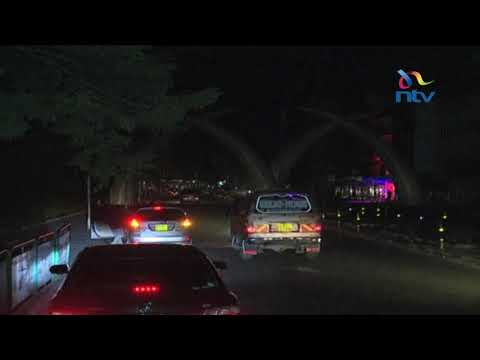 Kenya in darkness due to power blackout