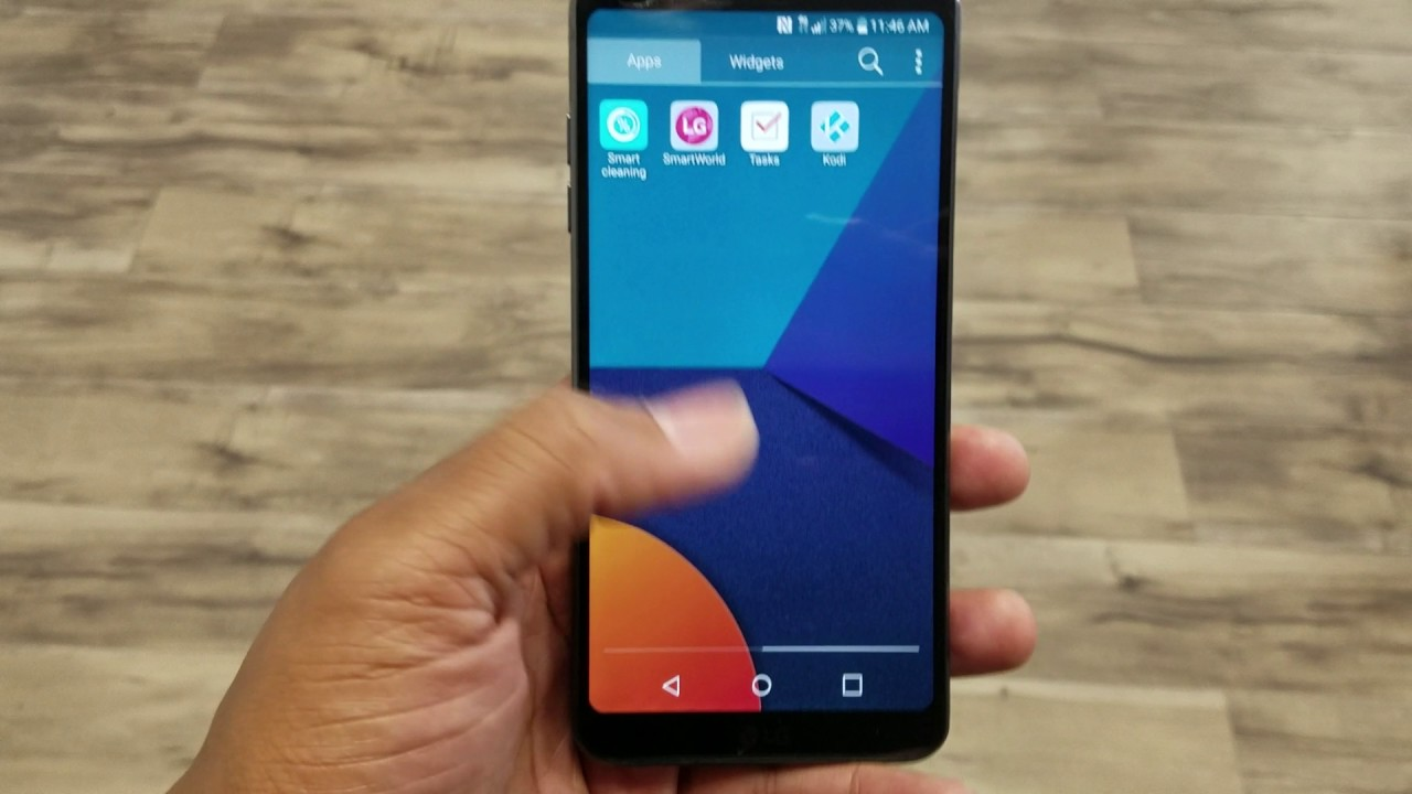 LG G6 - How to Get The App Drawer Back