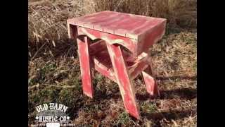 Rustic Adirondack Chairs By Old Barn Rustic Co.