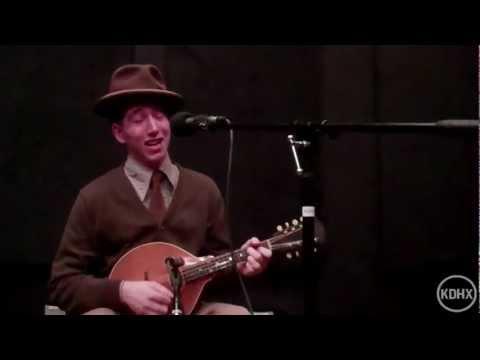 """Pokey LaFarge and Ryan Spearman """"Kentucky Woman Blues"""" Live at KDHX 11/29/11"""