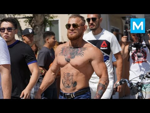 Conor McGregor Ready for Heavyweight Division (Prank) | Muscle Madness