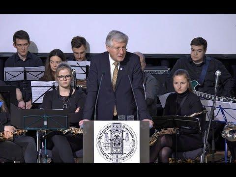 Neujahrsempfang mit Rektor Hans-Jochen Schiewer 2018