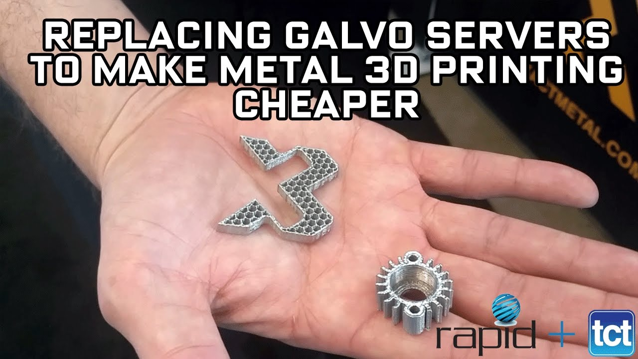 Xact Metal is replacing galvo servers to make metal 3D printing more affordable