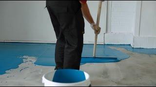Autolissant sol en béton | Rénovez totalement un sol en béton | Vidéo d'application