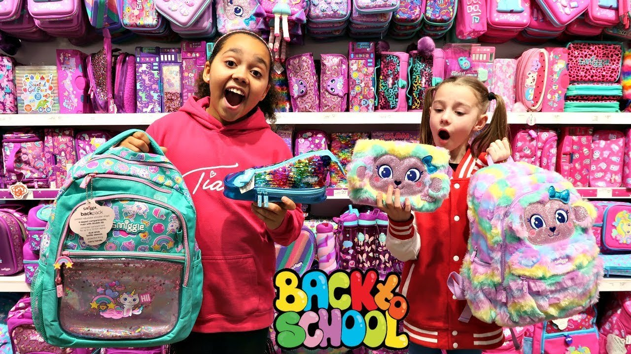 Back To School Shopping Smiggle School Supplies Youtube