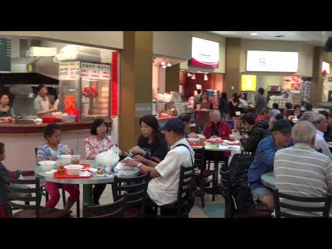 Parker Place Mall, Richmond,Older Style Chinese Food Court In Vancouver