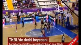 Fenerbahçe Galatasaray Odeabank Bayan Basketbol Maçı Hangi Kanalda?